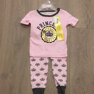 The Children's place Princess pink PJs